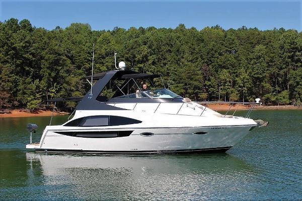 Carver 36 Mariner Starboard profile