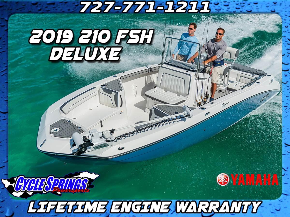 Yamaha Boats 210 FSH Deluxe