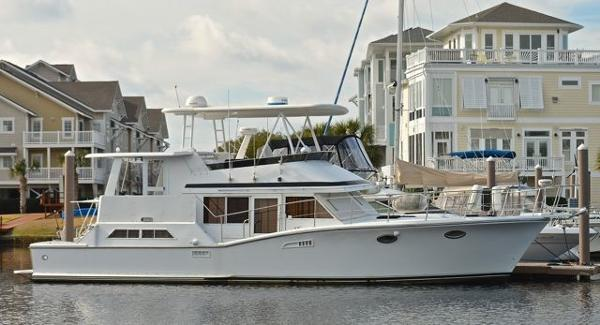 Symbol 51 Yacht Fisher 51 Symbol Yacht Fisher full starboard view