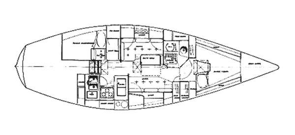 Tartan 37 layout
