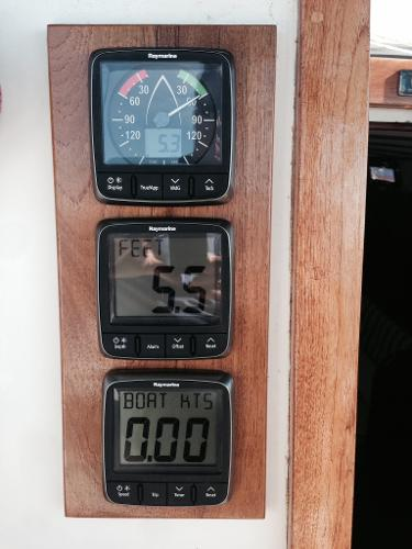 Raymarine i50/i60 instruments new 2014!