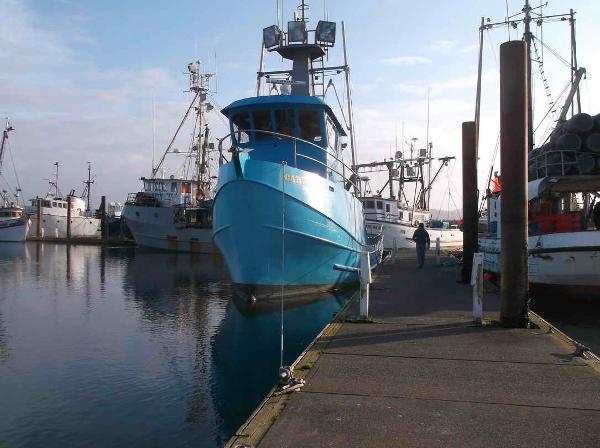 Longliner Tuna Crab Boat - Troller