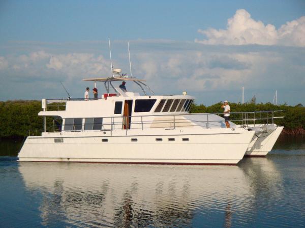 Malcolm Tennant Power Catamaran Profile