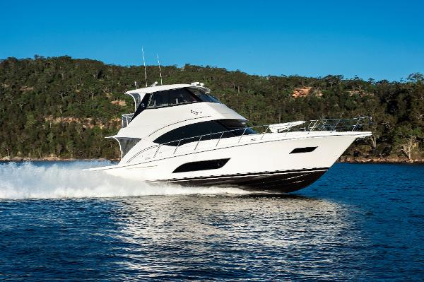 Riviera 57 Enclosed Flybridge- ON ORDER! Riviera 57 Enclosed Flybridge
