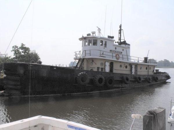 98' Steel Model Bow Tug /Rebuilt in 1950