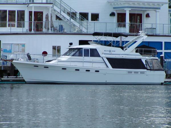 Bayliner 4588 Motoryacht PORT PROFILE