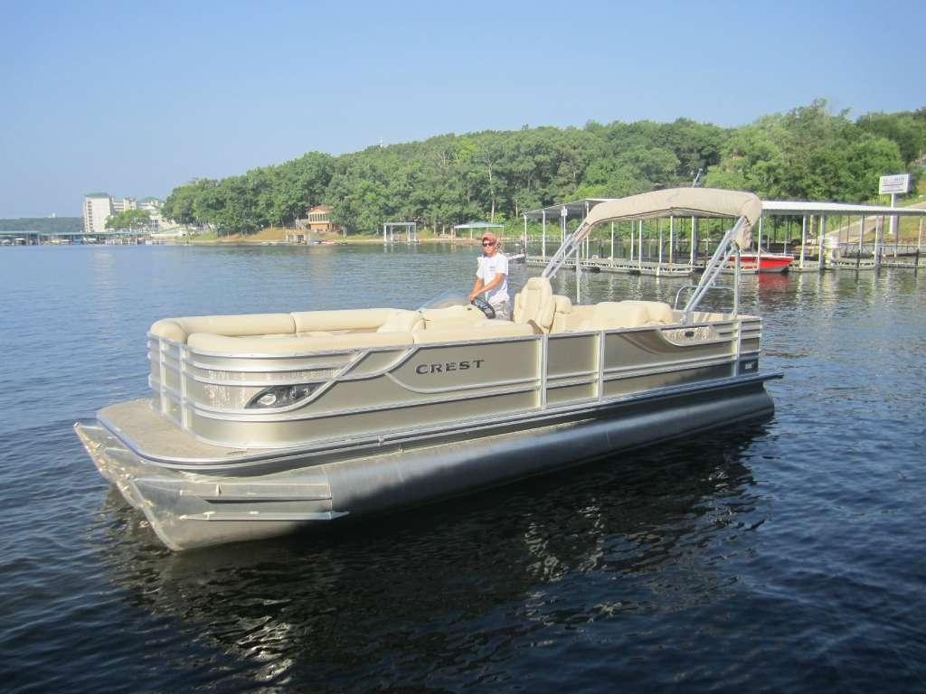 Crest Pontoon Boats Caribbean 250SLR2