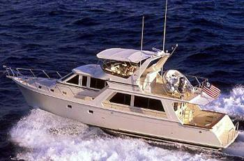 Offshore 54 Pilothouse Manufacturer Provided Image