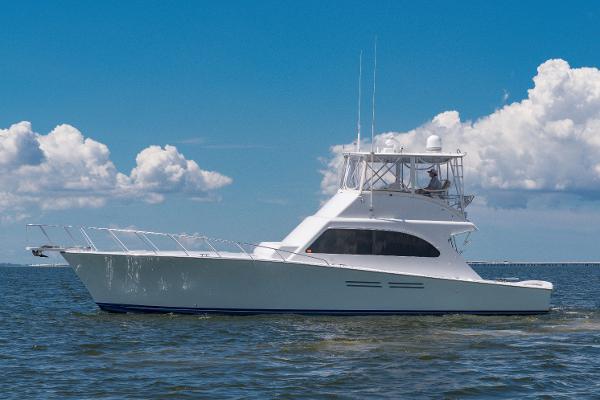 "Post Sport Fisherman Convertible 2001 50' Post ""Lucky Lucky II"""
