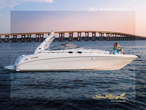 Sea Ray 360 Sundancer Manufacturer Provided Image