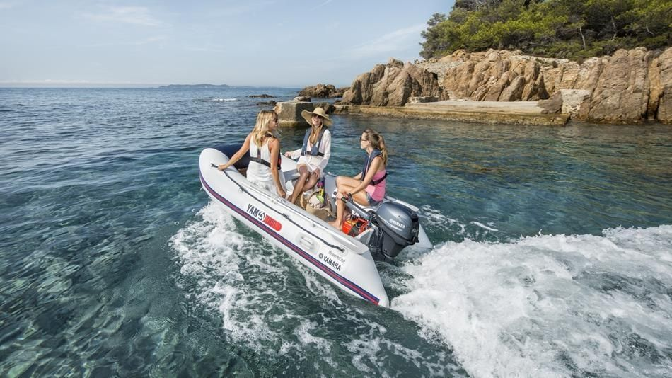 Yamaha Boats Yam 380 S mit 20 PS AluBoden