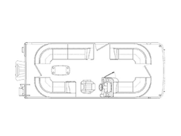 Bennington 21 SSRCX CUSTOM