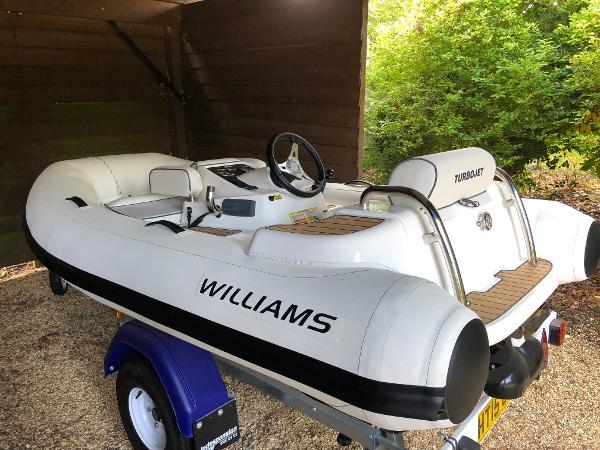Williams Jet Tenders Turbojet 285 Williams Turbojet 285