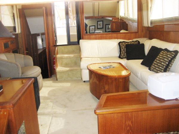 Salon  to starboard looking aft