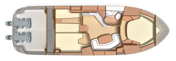 C-layout stern drives