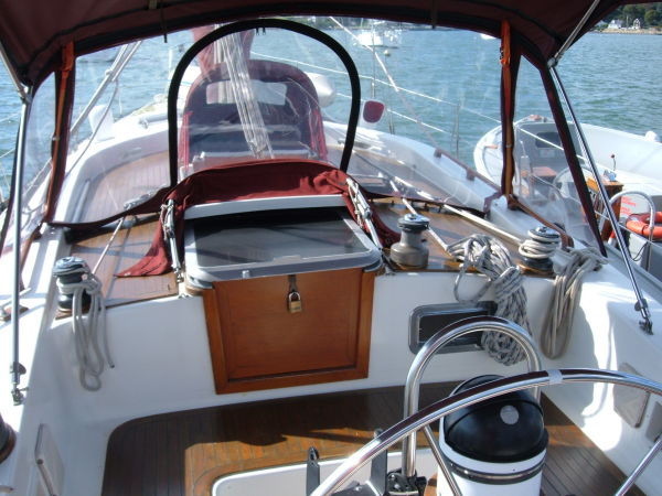 cockpit; note second companionway