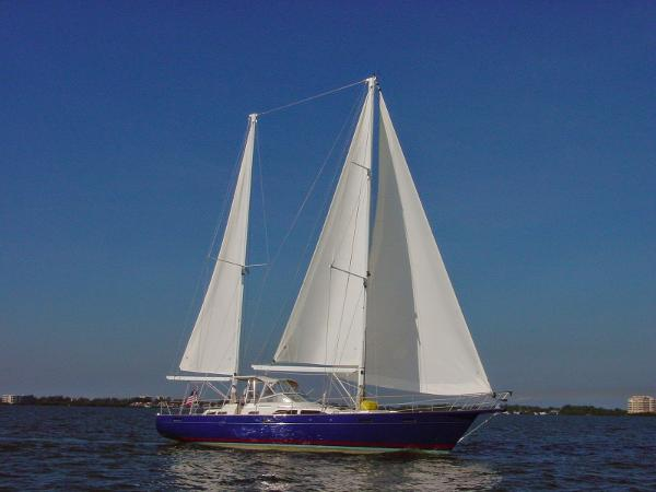 Sailboat Wind Dancer Ketch Lollipop Full and By