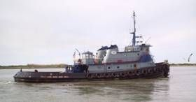 120' x 34' x 16' 6000hp Tugboat ABS International Class & Loadline