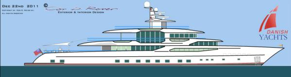 Profile with owners deck