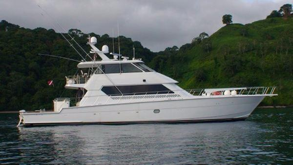 Hatteras Enclosed Flybridge Profile