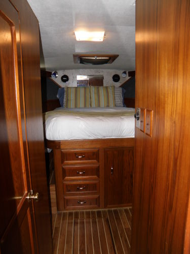looking into the Master Stateroom