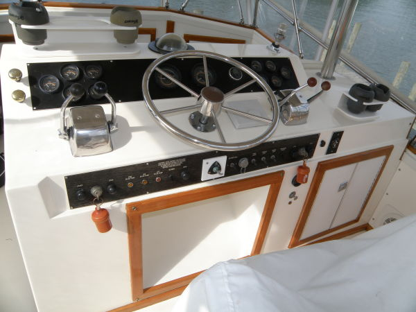 helm and controls
