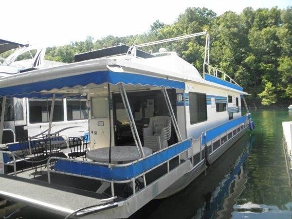 Sumerset 14 x 60 Aluminum Houseboat
