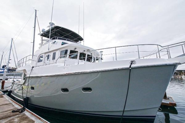 Nordhavn 52 Exterior - Starboard