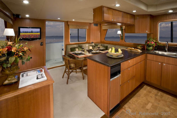 Northwest Trawlers 45 Main Salon Aft
