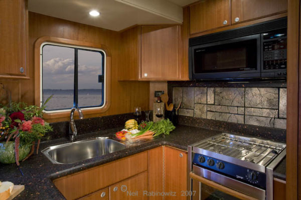 Northwest Trawlers 45 Galley