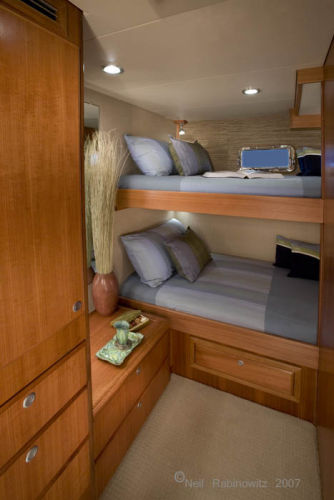 Northwest Trawlers 45 Guest Cabin
