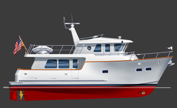 Northwest Trawlers 45 Rendering