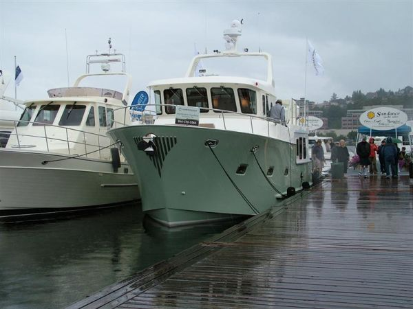 Northwest Trawlers 45 Docked