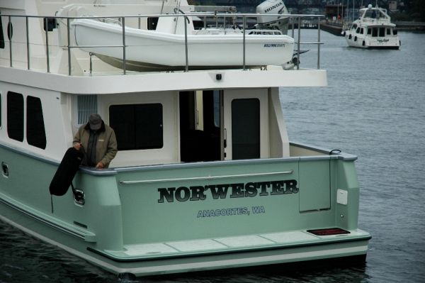 Northwest Trawlers 45 Stern