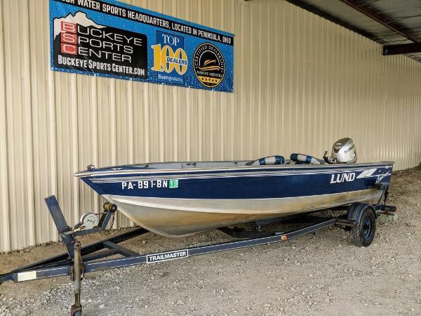 Lund 1600 Explorer Tiller