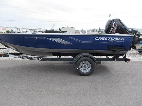 Crestliner 1750 Fish Hawk Side Console JS