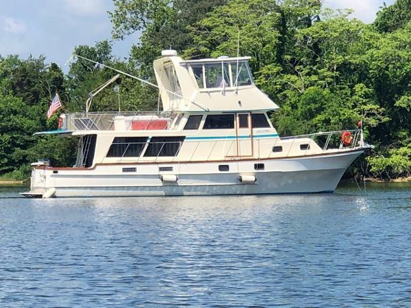 Delta Marine 46 Sedan Trawler