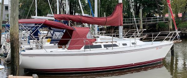 Catalina 30 Bimini, Dodger & Connector