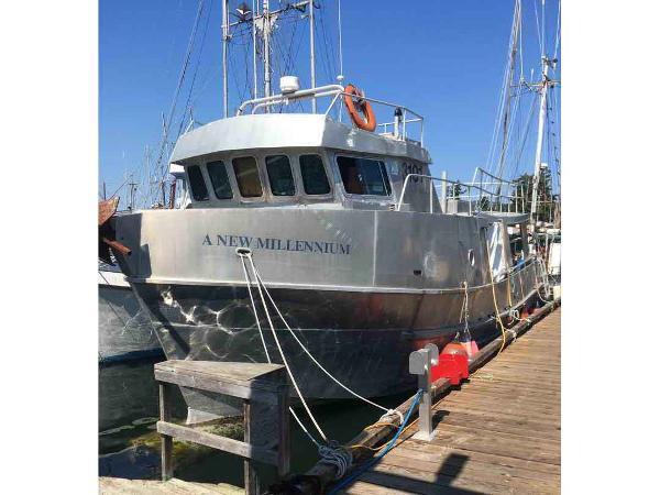 Commercial Longliner, Trawler, Salmon