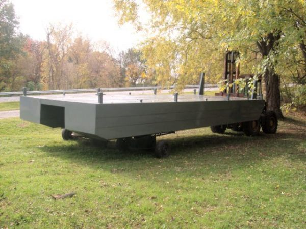 Steel Pontoon Barge To be built Photo 1