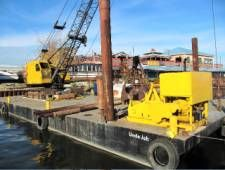 Spud Barge/Crane/Winch/Welder/Push Boat Photo 1