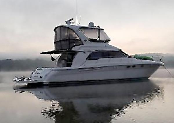 Sea Ray 480 Sedan Bridge Main Profile
