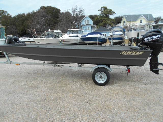 2017 Alweld 1648 Flat Bottom, Norfolk Virginia - boats.com