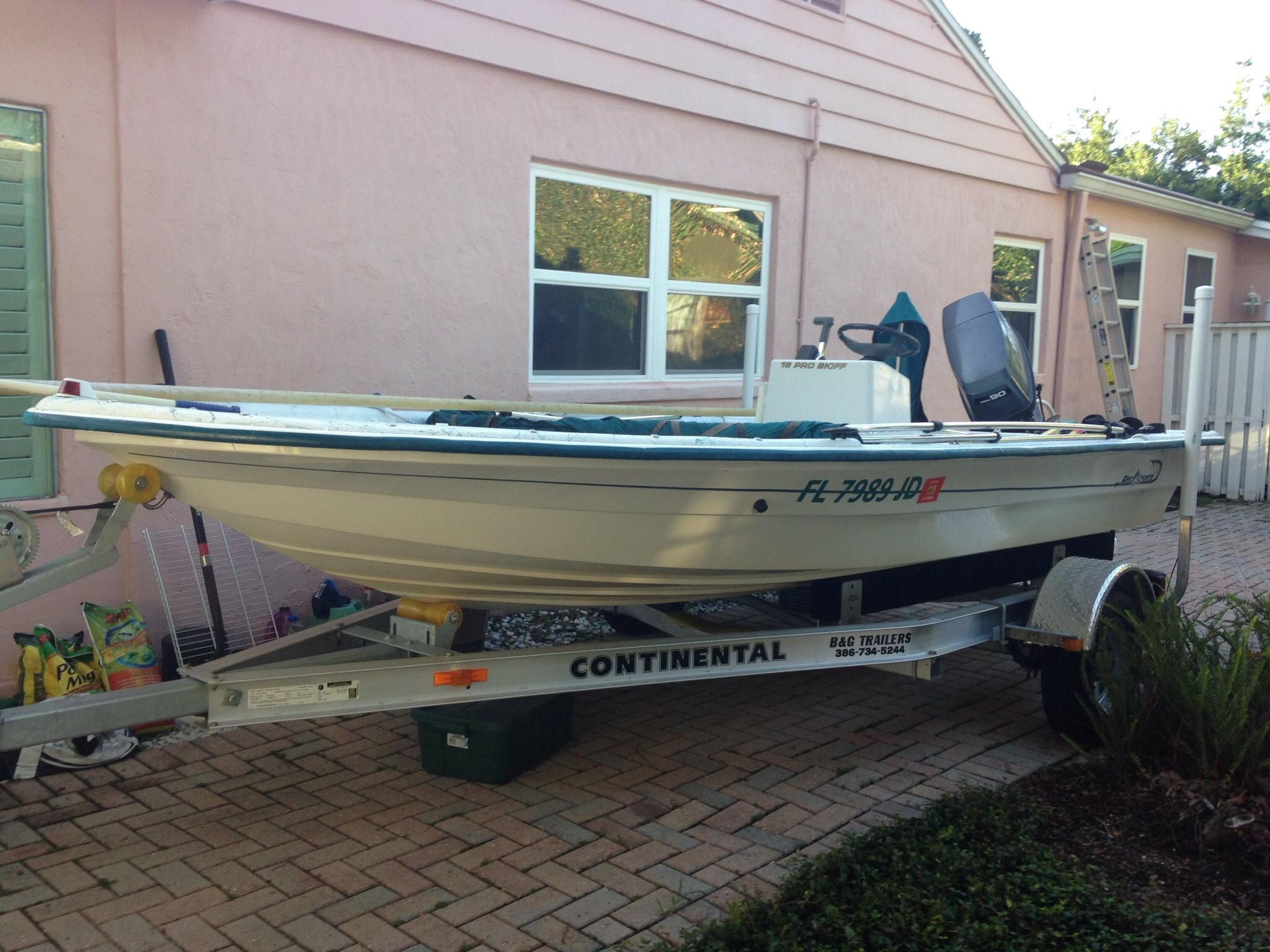 Pro Sport Boats Pro V Skiff