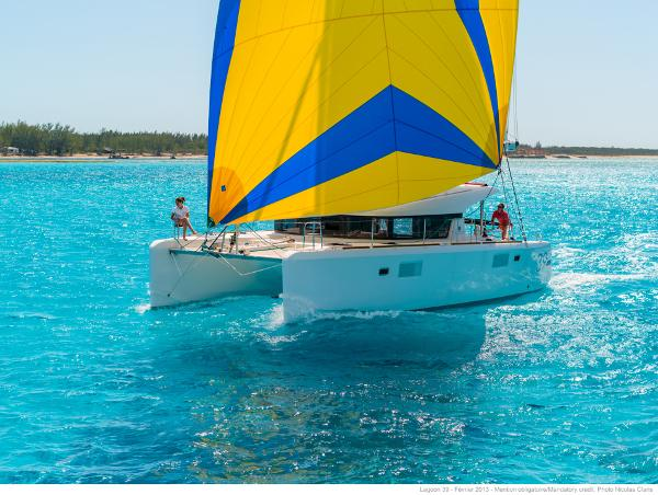 Lagoon 39 Manufacturer Provided Image: Lagoon 39 Sails