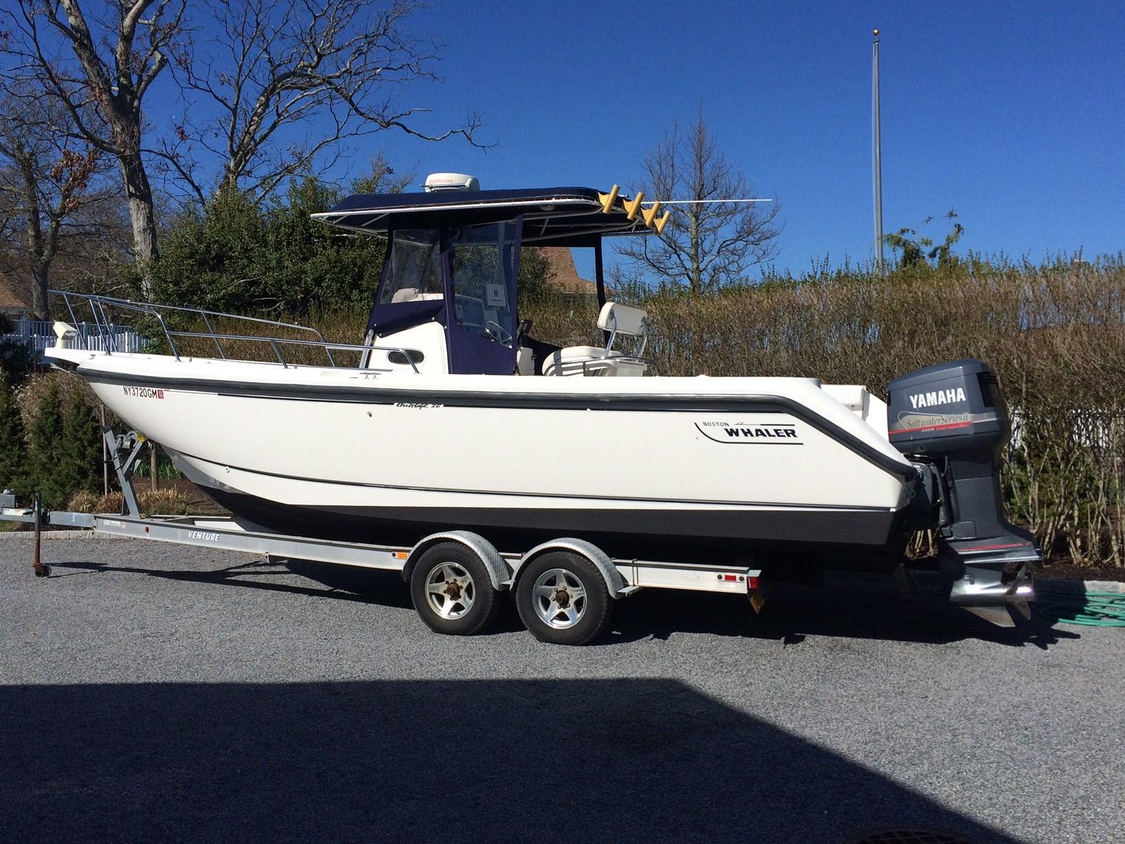 1999 boston whaler 26 outrage, south jamesport new york boats com Boston Whaler 27