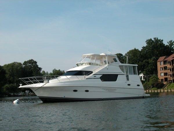 Silverton 453  Motor Yacht Great Shape! 45 Silverton 453