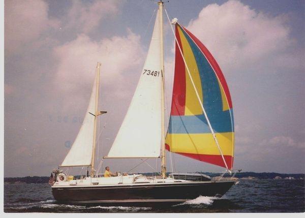 Camper Nicholson Earlier Photo Under Sail