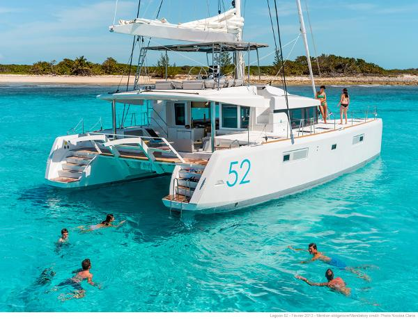 Lagoon 52 F Manufacturer Provided Image: Lagoon 52 Stern