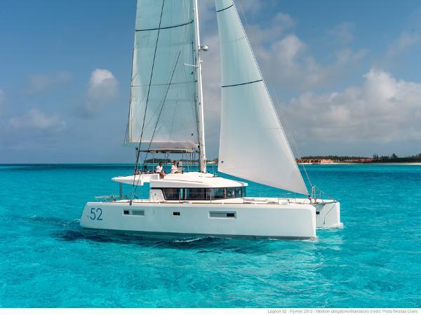 Lagoon 52 Sailing